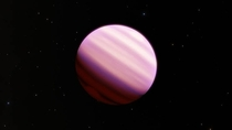 Cotton candy planet kepler-b