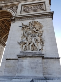 Could stare at the detail in this work for hours Zoom and and take a look Arc de Triomphe France