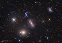 Counting Galaxies in Hickson Compact Group  Arp   Interacting Galaxies