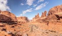 Courthouse Towers Arches Natl Park Moab UT  OC