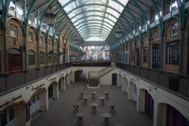 Covent Garden London abandoned for covid lockdown Link to photographer and more empty London photos in the comments