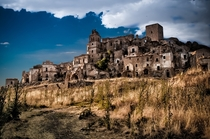 Craco Italy- Abandoned in  due to recurring earthquakes  Photo by Paolo Dari