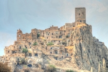 Craco Italy One of several Italian ghost towns created by earthquakes and landslides during the s-s