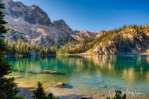 Cramer Lake in the Sawtooth mountains of Idaho