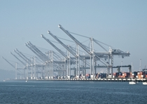 Cranes of the Port of Oakland