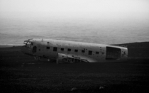 Crashed DC Vik Iceland