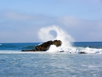 Crashing Leo Carillo Beach CA