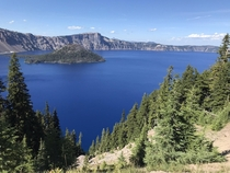 Crater lake- bluest of the blue x