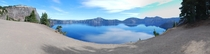 Crater Lake in Oregon US Taken last week on our road trip from Portland to LA