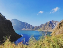 Crater Lake - Mt Pinatubo Philippines