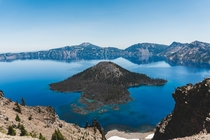Crater Lake National Park July