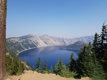 Crater Lake National Park OR The stunning views of this gigantic caldeira are just breathtaking