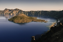 Crater Lake National Park Oregon USA -