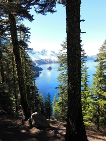 Crater Lake National Park - Phantom Ship