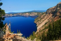 Crater Lake on Blue Bird conditions