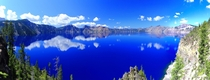 Crater Lake OR Deep Blue