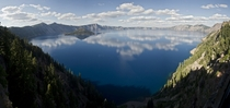 Crater Lake Oregon  by Ben Leshchinsky