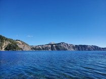 Crater Lake  Oregon from the other side OC  x