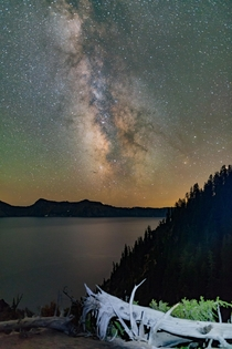 Crater Lake Oregon Gorgeous during the day stunning at night
