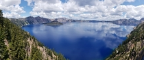 Crater Lake Oregon last month