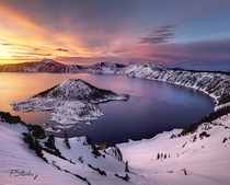 Crater Lake Oregon - photo by Forrest Stanley