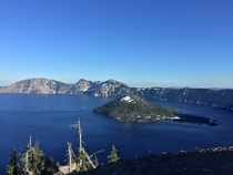 Crater Lake Oregon The deepest lake in America and also one of the coolest national parks Ive ever been to