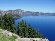 Crater Lake Oregon  x