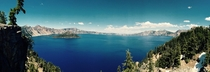 Crater Lake Pano OR