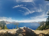Crater Lake Southern Oregon July th   OC
