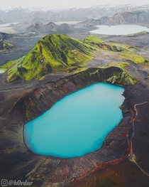 Crater lakes of Iceland  - Instagram hrdur