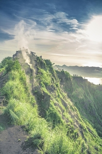 Craters of Mt Batur Volcano Indonesia x OC
