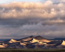 Crazy cloud action in Great Sand Dunes National Park