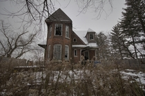 Creepy Abandoned Ontario Farm House