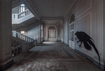 Creepy Asylum Staircase in Italy