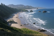 Crescent Beach at Ecola State Park Oregon