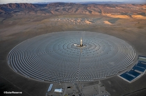 Crescent Dunes Solar Tower