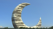 Crescent Moon Tower Zaabeel Park Dubai