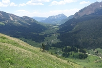 Crested Butte and Gothic Mountain Colorado