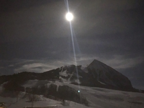 Crested Butte super moon