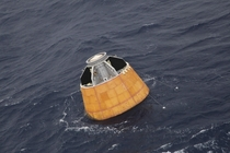 Crew module Atmospheric Reentry Experiment CARE launched aboard GSLV Mk  returns back to earth