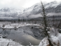 Crow Pass Trail in January Eagle River Alaska