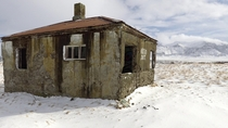 Crumbling Cabin on the Icelandic Tundra