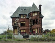 Crumbling House Detroit