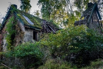 Crumbling House in the Woods