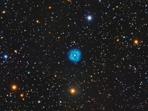 Crystal Ball Nebula Approximately  light years from Earth Google search image