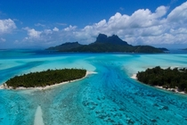 Crystal Clear Beach - Bora Bora - Photo by Pierre Lesage