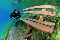 Crystal clear flood at Green Lake Austria cred to Andre Crone