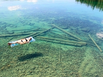 Crystal Clear Water - Flathead Lake MT