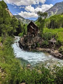 Crystal Mill in Crystal Colorado