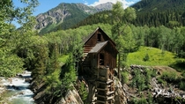 Crystal Mill near Lead King Basin Colorado